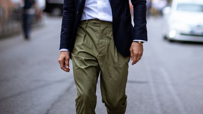Six Ways To Wear Men's Pleated Trousers (And Shorts) This Spring | The  Journal | MR PORTER