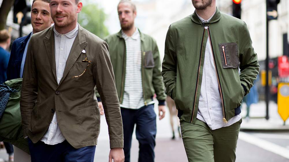 How To Wear Green A Gentleman S Guide The Journal Issue 293