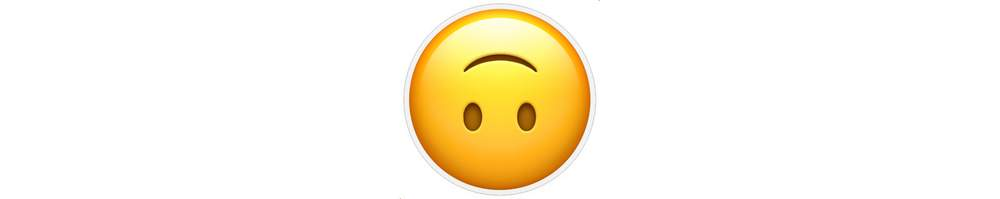 Cheesy smile emoji