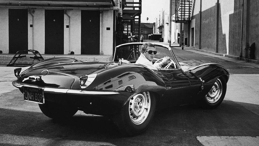 d1a6ccae Mr Steve McQueen driving his Jaguar, California, 1963. Photograph by John  Dominis/ The LIFE Picture Collection/ Getty Images