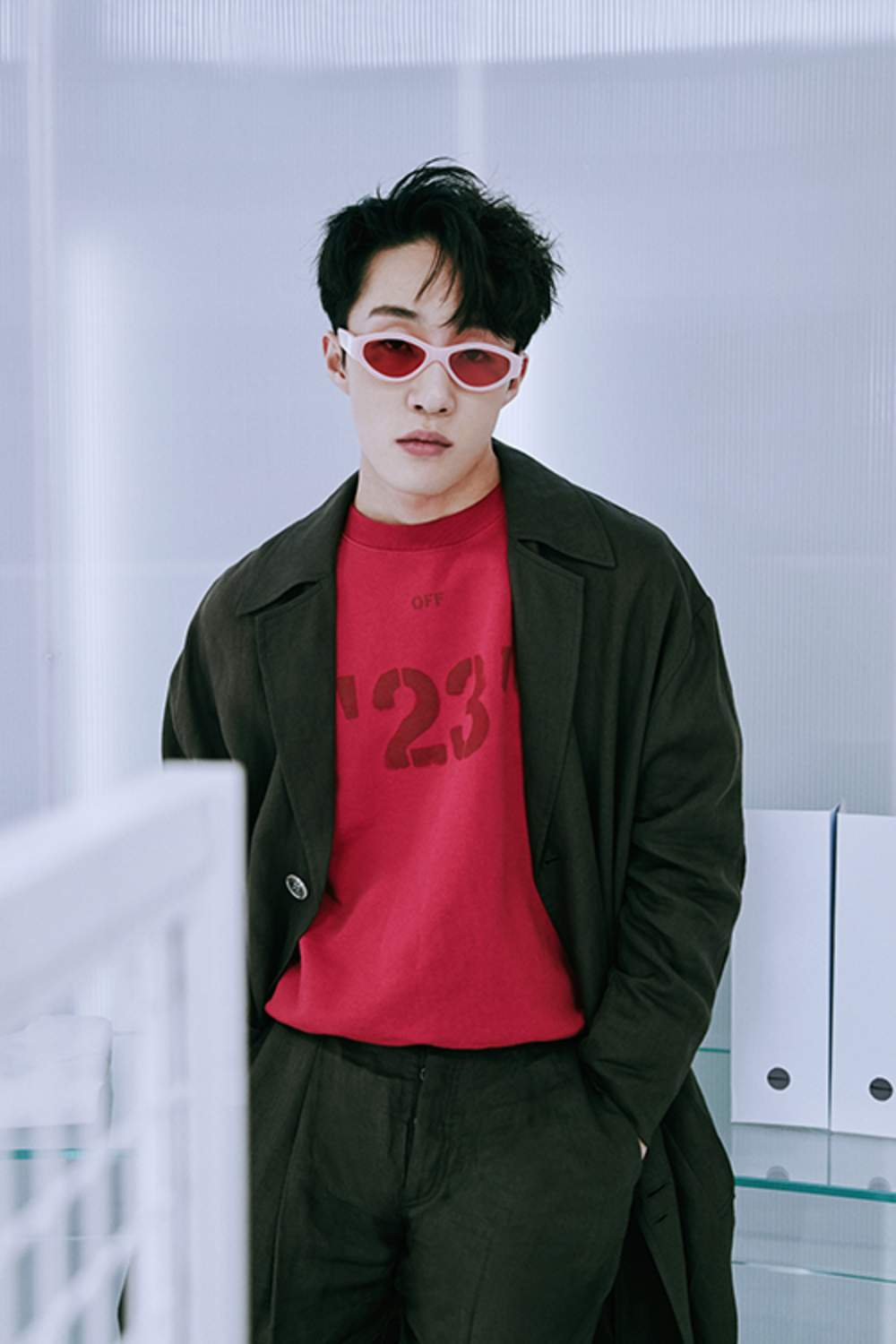 Zion  T In Our Exclusive Off-White Collection | The Look