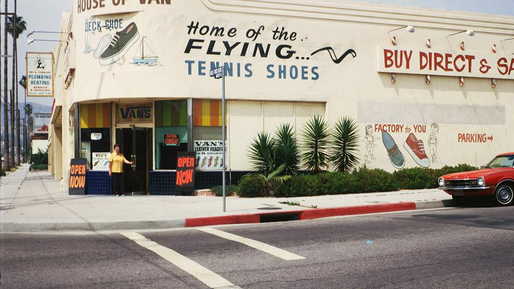 4f3064c5a9 One of the first Vans stores opened in Redondo Beach