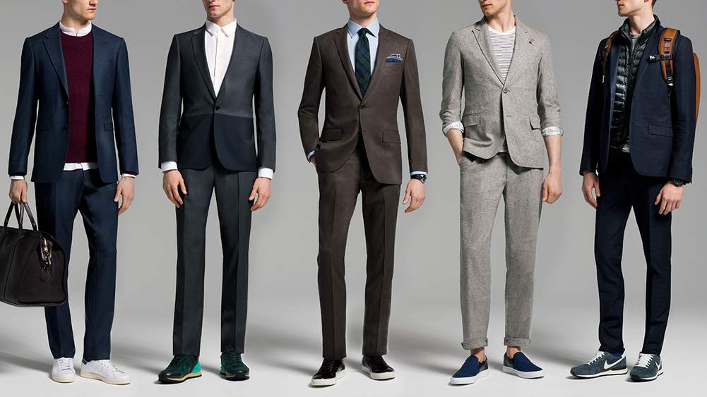 Suits And Sneakers | Dress Code | The Journal