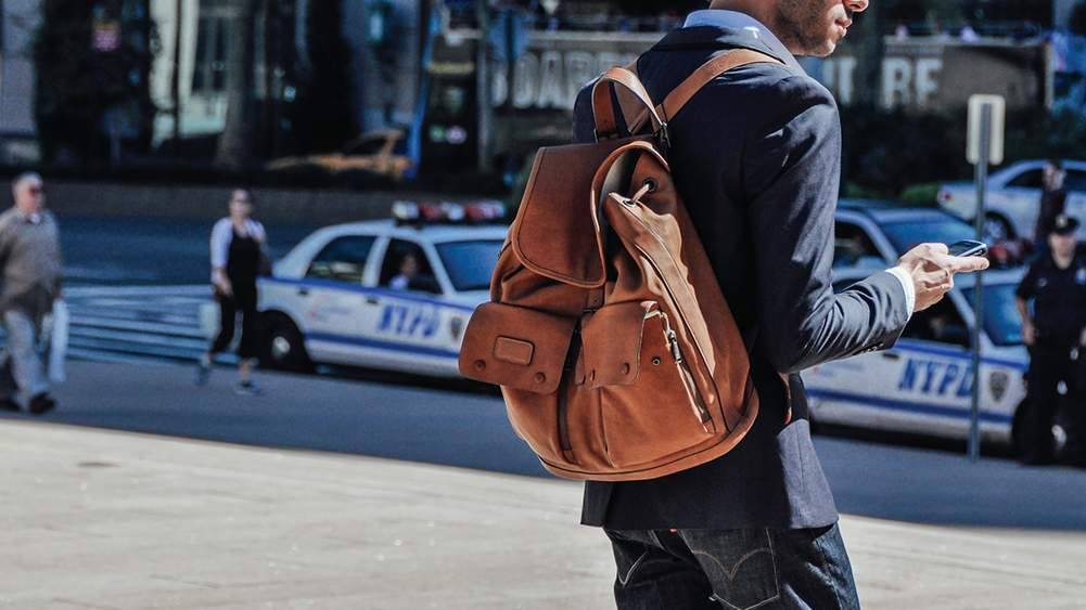 42ddad1c880 Six Ways To Wear A Backpack   A Gentleman s Guide   The Journal ...