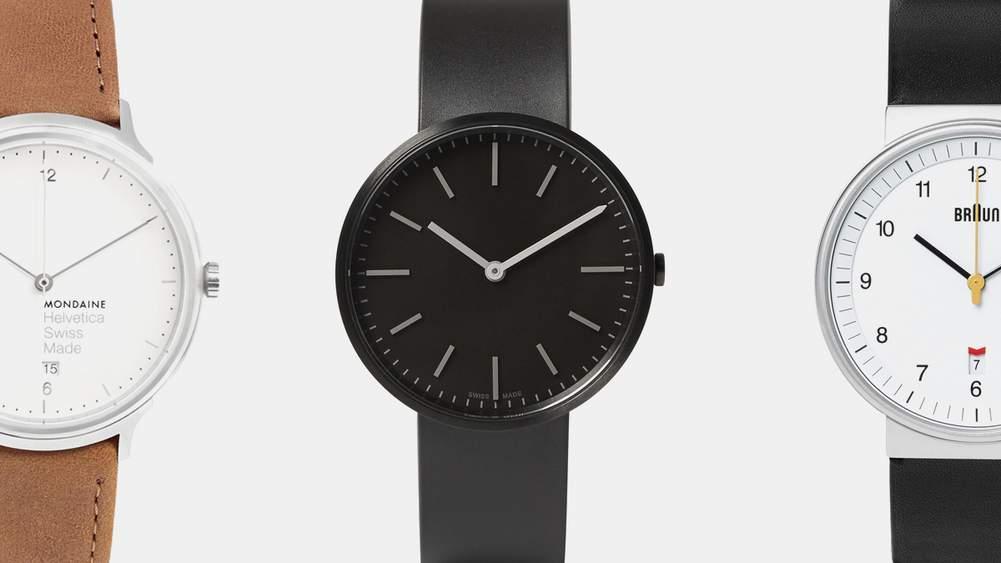 Three Of The Best Minimalist Watches