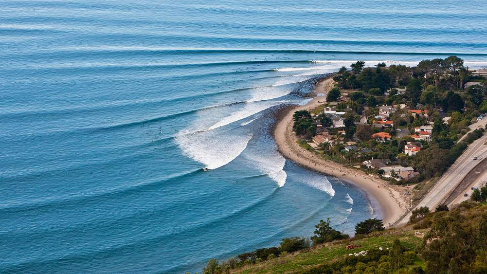 Californias seven best surf spots on the road the journal best for instagram rincon point santa barbara publicscrutiny Images