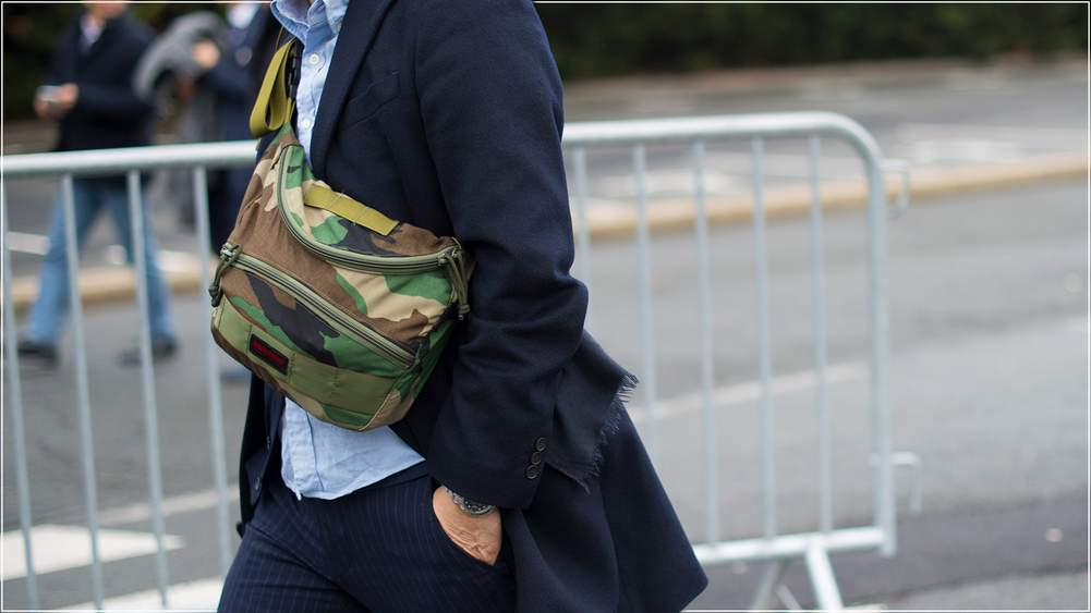 Eight Ways To Be Seen In Camouflage