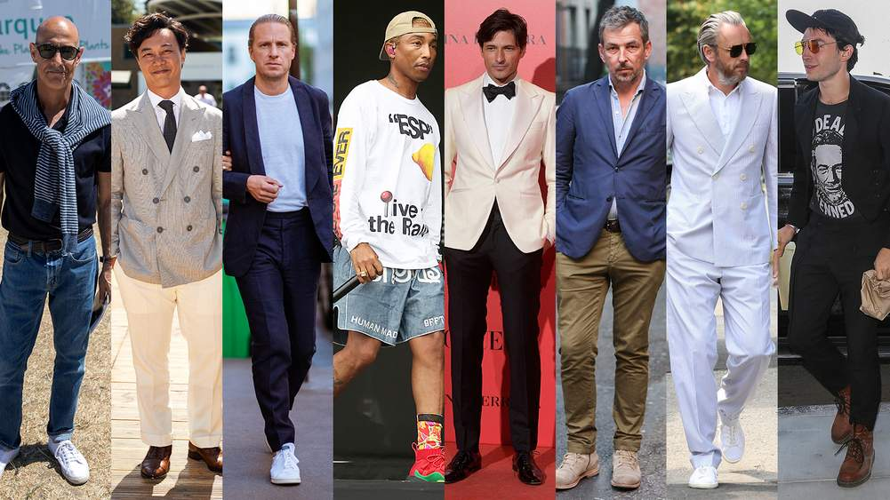 8b77cd5d6a6 From Mr Ezra Miller to Mr Pharrell Williams – the celebrities looking sharp  this month