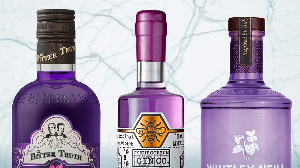 Why The Trend For Coloured Gin Shows No Sign Of Fading