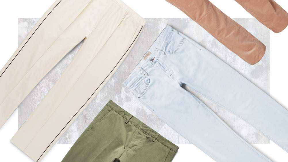 Four New Pairs Of Summer Trousers