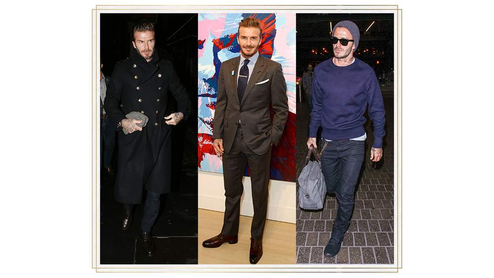 5ccb83d29bb5f From left: Mr David Beckham at the Kent & Curwen and MR PORTER launch  dinner, London, 16 November. Photograph by Flynet Pictures; Mr Beckham at  the David ...