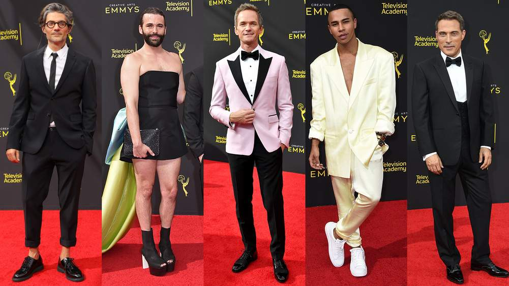 The Best-Dressed Men At The 2019 Creative Arts Emmy Awards