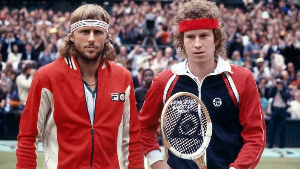 Messrs Björn Borg and John McEnroe at the Wimbledon men s single final e5c1d6f8d8f