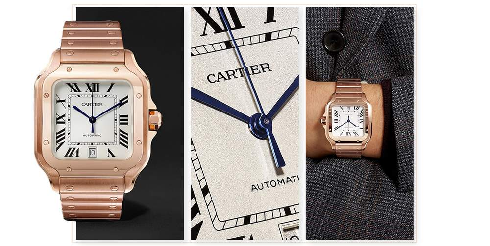 814bb50088bc New To Us - The Perfect Timing Of Santos De Cartier   The Journal   MR  PORTER   Bloglovin'