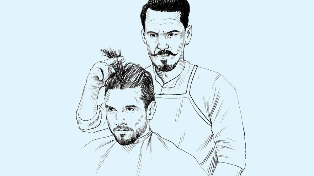 How To Man Up To Your Barber