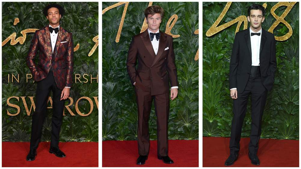 Three Tips On How To Wear A Tux From Last Night's British Fashion Awards
