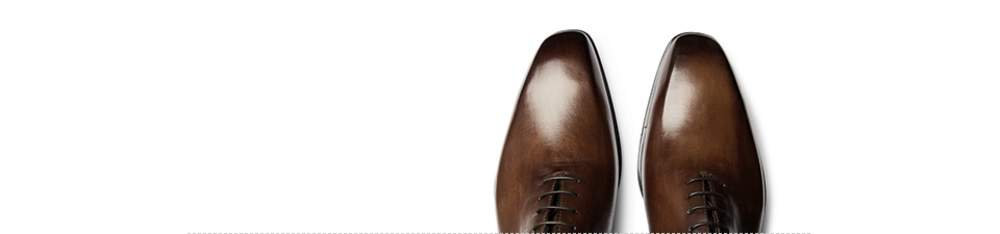 c4896fe3afbb8 ... of the wingtip, these shoes feature a pointed toecap with broguing that  runs the full length of the shoe, meeting at the centre seam of the heel.