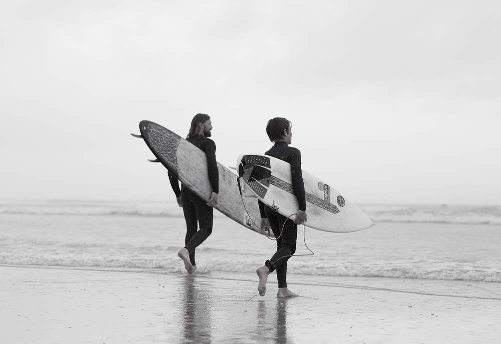 ceda8de208 As MR PORTER launches kidswear, we brave the English summer rain with pro  surfer Mr Ben Skinner and his two young sons