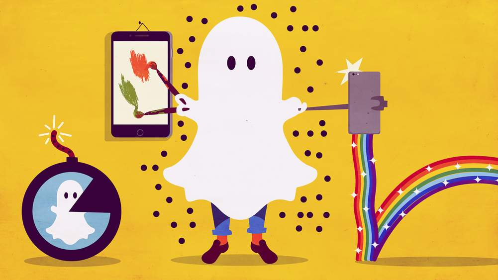 A Grown-Up's Guide To Snapchat | Modern Problems | The