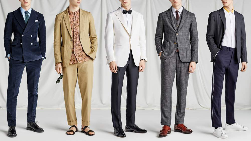 Five Men S Wedding Outfits For Spring 2018