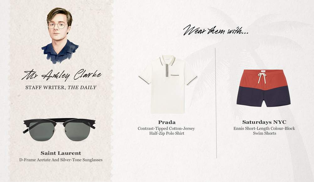 fb99940d851 Staff Picks - What We're Wearing To The Beach This Summer | The Journal |  MR PORTER | Bloglovin'