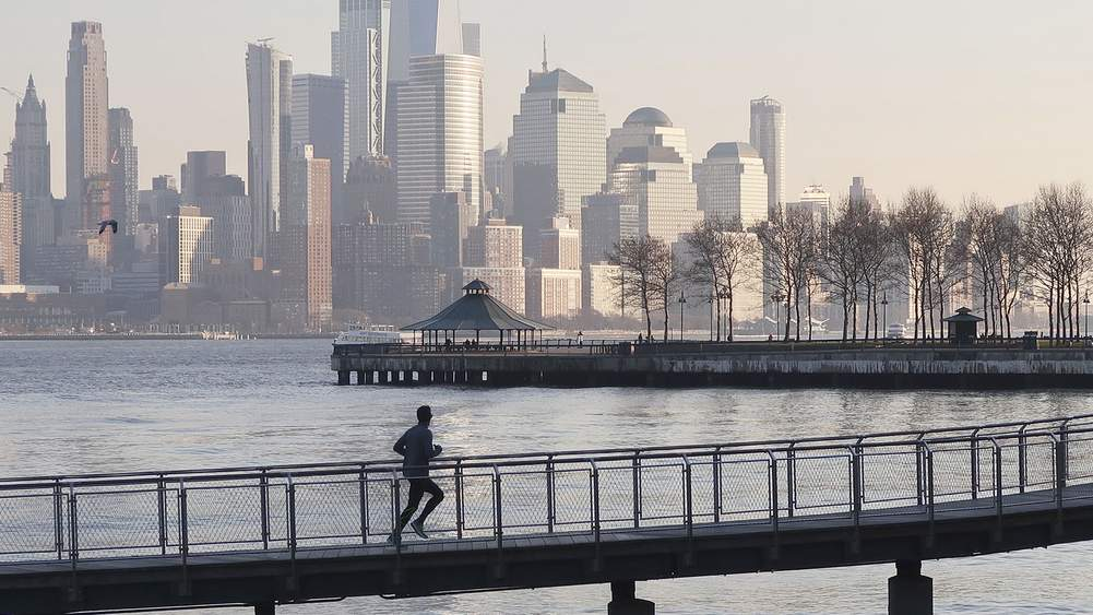 A Head Start On Running In The City