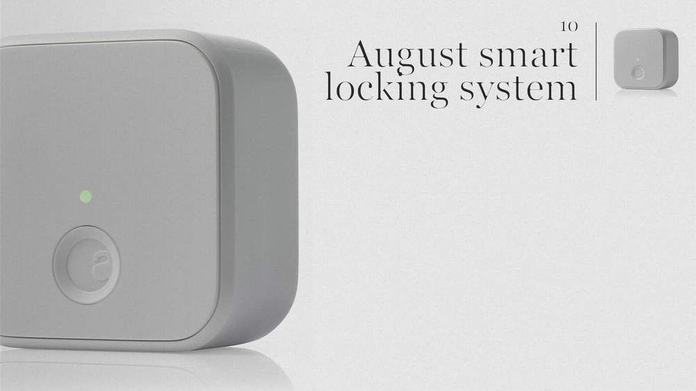 Designer Mr Yves Béhar, Famous For Jawbone Tech Products, Has Been Fiddling  With Locks And Come Up With The Comprehensive, Clever And Stylish August  Door ...