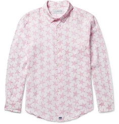 Pink House Mustique - Printed Linen Shirt