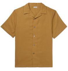 Margaret Howell Camp-Collar Linen Shirt