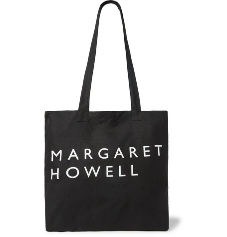 Printed Linen Tote Bag by Margaret Howell
