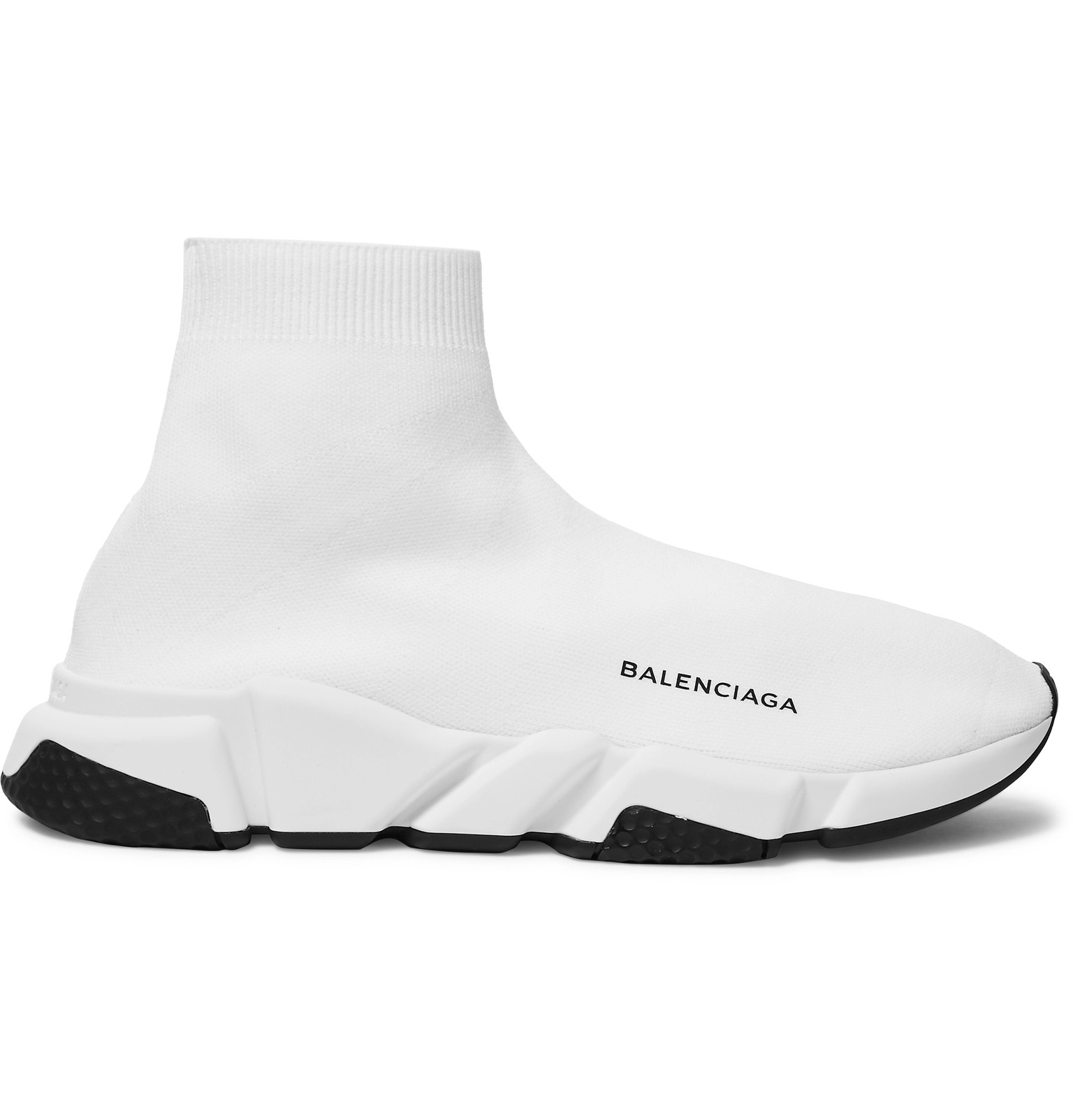 detailing exquisite style cheapest Balenciaga - Speed Sock Stretch-Knit Slip-On Sneakers