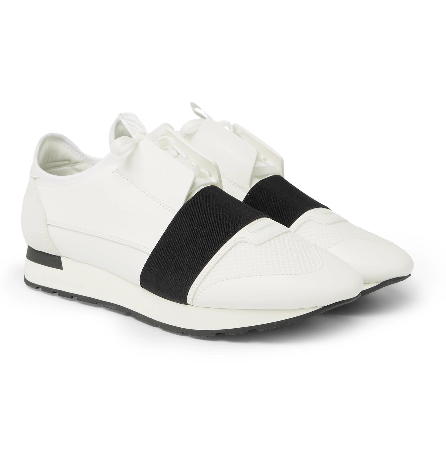 887d8ce256b3e Balenciaga - Race Runner Leather