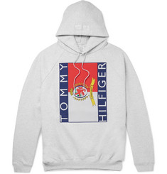 Vetements - + Tommy Hilfiger Oversized Cotton-Jersey Hoodie