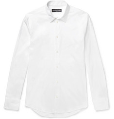 Balenciaga Slim-Fit Stretch Cotton-Blend Poplin Shirt