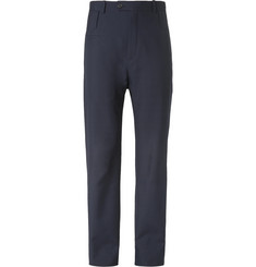 Balenciaga Slim-Fit Virgin Wool-Blend Twill Trousers