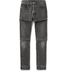 Balenciaga - Zip-Panelled Denim Jeans