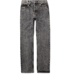 Balenciaga Acid-Washed Denim Jeans