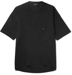 Balenciaga Oversized Cotton-Jersey T-Shirt