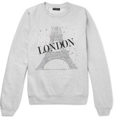 Balenciaga - Oversized Printed Fleece-Back Cotton-Blend Jersey Sweatshirt