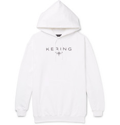 Balenciaga Kering Oversized Printed Loopback Cotton-Jersey Hoodie