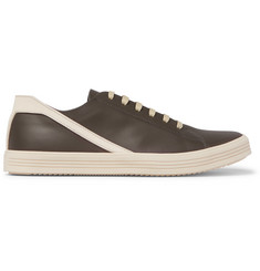 Rick Owens Geothrasher Leather Sneakers