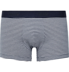Armor Lux Shorty Striped Cotton-Jersey Boxer Briefs