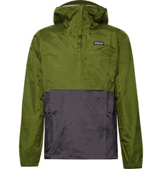 Patagonia Torrentshell Waterproof H2No Performance Standard Nylon-Ripstop Hooded Jacket