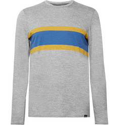 Patagonia Slim-Fit Striped Capilene Jersey T-shirt