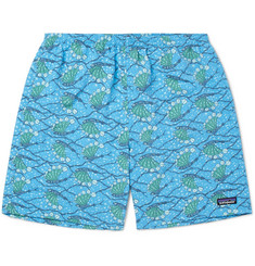 Patagonia Baggies Printed DWR-Coated Shell Shorts