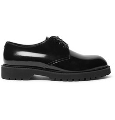 Saint Laurent Liverpool Patent-Leather Derby Shoes