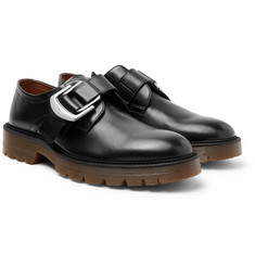 Givenchy - Leather Monk-Strap Shoes