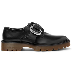 Givenchy Leather Monk-Strap Shoes