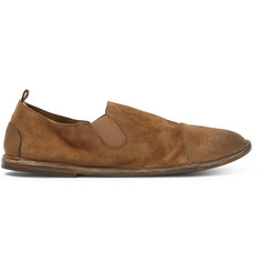Marsell Washed-Suede Loafers