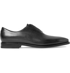 Berluti Alessandro Eclair Whole-Cut Polished-Leather Oxford Shoes